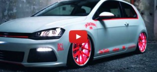 Amazing VW Golf 7 2013 Light-Tron Tuning Showcar