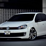 Amazing white VW Golf GTI – Osman Yalçın