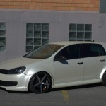 Anabolika Golf 6 with Vossen CV3 wheels – Musti Mustafa