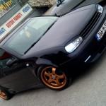 Black Volkswagen Golf MK IV – Necko Vehabovic