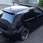 Black Volkswagen Golf MK IV GTI – Kristian Kala