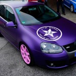 The purple Volkswagen Golf MK V 16V – Kevin Uertz