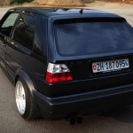 Black VW Golf MK II – NiSi Krasniqi