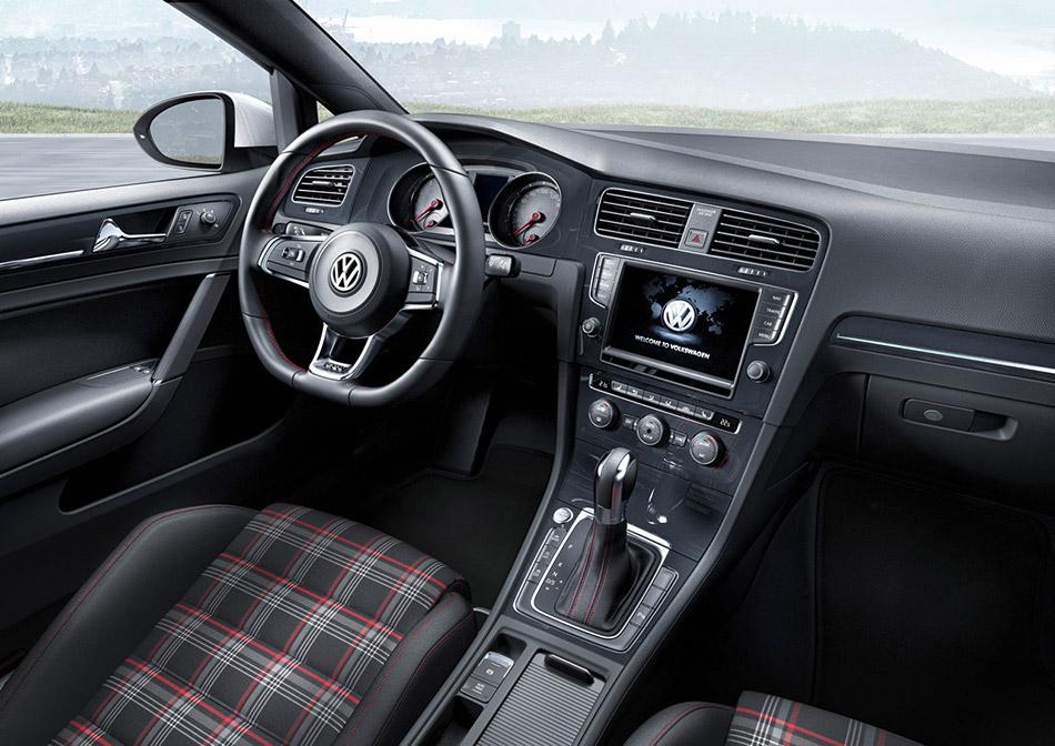 Volkswagen Golf 2014 Red 2014 Volkswagen Golf Gti
