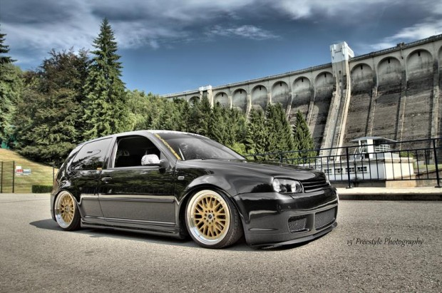 black vw golf mk4 gti tdi r line thomas thissen vw golf tuning. Black Bedroom Furniture Sets. Home Design Ideas