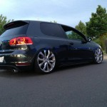 Black VW Golf VI GTD – Marlon J. Walker