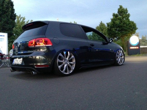 black vw golf vi gtd marlon j walker vw golf tuning. Black Bedroom Furniture Sets. Home Design Ideas