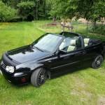 Black Volkswagen Golf MK3 Cabrio – Chriss State