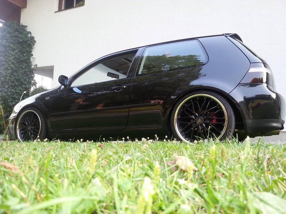 Black Volkswagen Golf Mk Iv Christian Wohlmuth Vw Golf Tuning