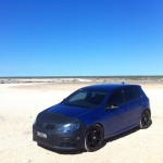 Dark blue 2012 Golf R – Nic Jessop