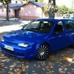 Blue Volkswagen Golf MK4 – Mergim Ba