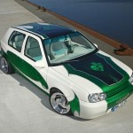 Custom VW Golf 3 VR6 on Budnik Switch blade rims