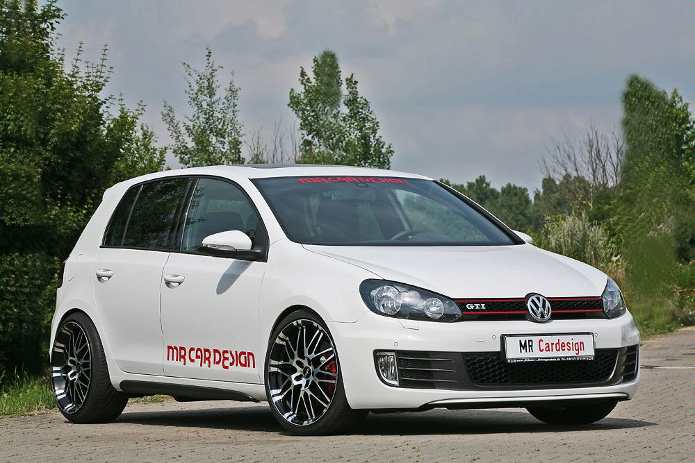 Golf VI GTI performance upgrades by MR Car Design | VW Golf Tuning