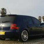 Navy blue VW Golf MK4 – Jerhome Cokes Brendell