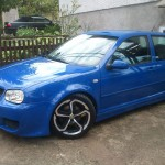 Nice looking blue VW Golf Mk4 – Ivan Juric