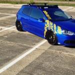 Outstanding blue Volkswagen Golf R32 – Da Vin