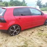 Red-Volkswagen-Golf-MK5