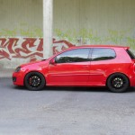 Red Volkswagen Golf MK5 GTI – Christian Dickel