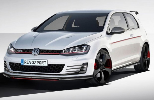 volkswagen golf vii gti gets aero and performance tuning. Black Bedroom Furniture Sets. Home Design Ideas