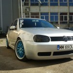 Silver VW Golf MK IV – Claudiu Meauna