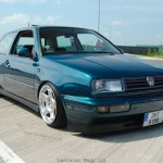 VW MK3 Golf with Vento front end