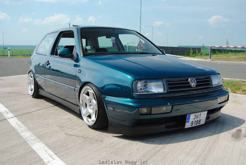 vw mk3 golf with vento front end vw golf tuning. Black Bedroom Furniture Sets. Home Design Ideas