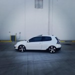 White 2008 VW Golf GTI – Joshua Snyder