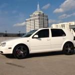 White-VW-Golf-MK4