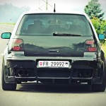 Black VW Golf Mk4 GTI – Sändu Staub