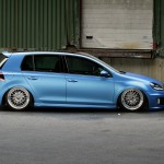 Blue Metallic Golf MK VI