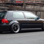 Brown Volkswagen Golf Mk4 GTI