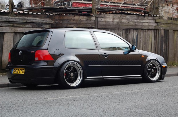 Brown Volkswagen Golf Mk4 Gti Vw Golf Tuning