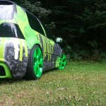 Colorful Volkswagen Golf Mk4 – Alex