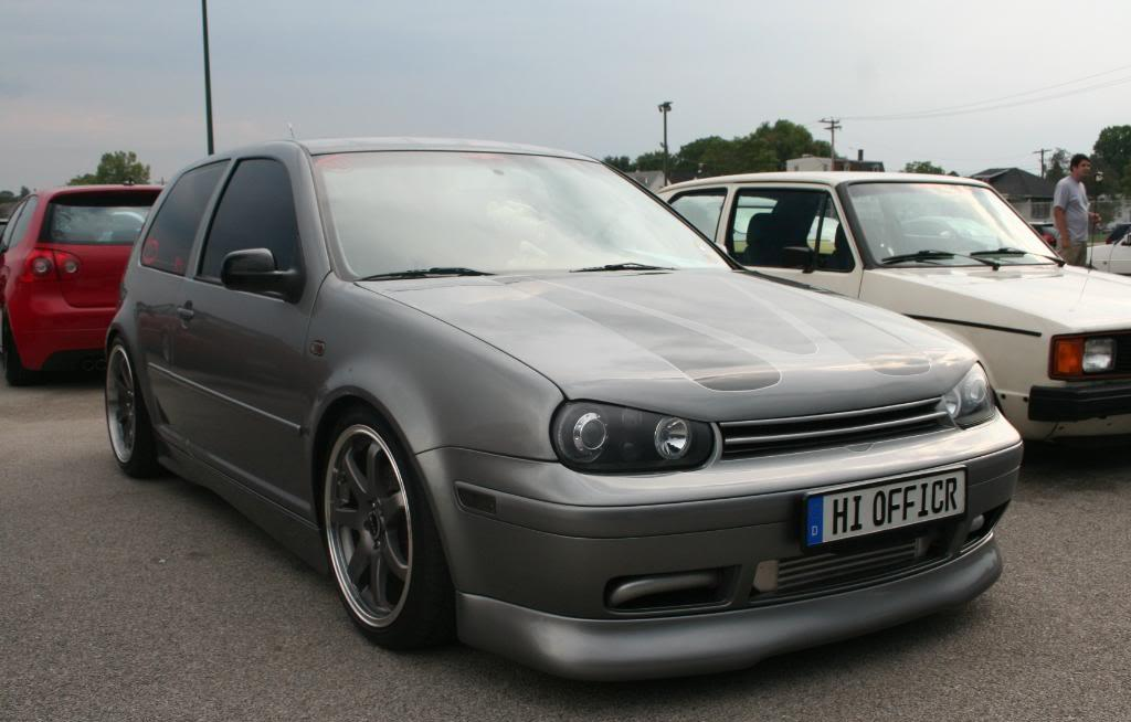 grey-vw-golf-mk4-tinted-windows