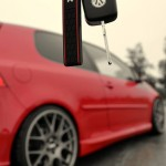 red-VW-Golf-V-Gti