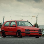 Red & Black VW Golf Mk3 GTI