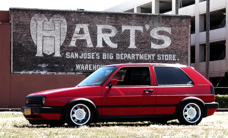 red-vw-mk2-silver-vw-wheels