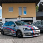 Silver Martini Racing VW Golf Mk7