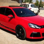 Stunning red VW Golf R – Ahmad Barzani