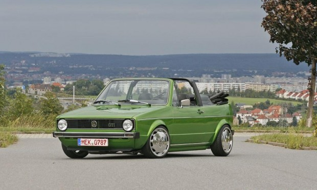 green volkswagen mk1 cabrio vw golf tuning. Black Bedroom Furniture Sets. Home Design Ideas