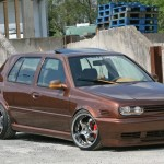 Volkswagen Golf Mk3 VR6 with Schmidt Space-Line wheels