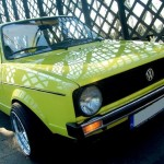 Light Green Volkswagen Mk1