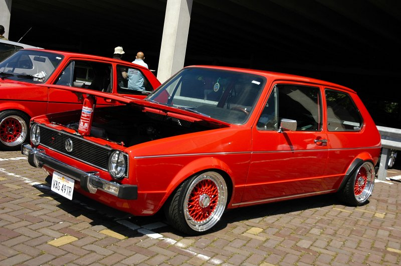 Red volkswagen golf mk1 on bbs wheels vw golf tuning rate and comment this image red volkswagen golf mk1 on bbs wheels sciox Gallery