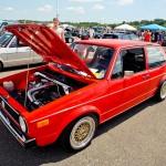 Red Volkswagen Golf Mk1