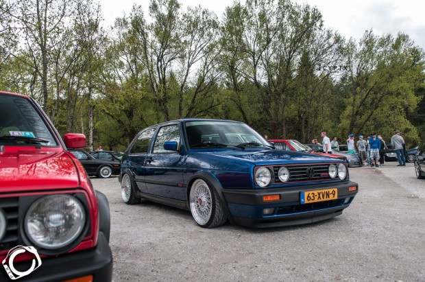 blue vw mk2 g60 on silver bbs wheels vw golf tuning. Black Bedroom Furniture Sets. Home Design Ideas