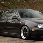 Black VW Golf Mk4 GTI