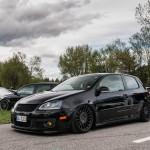 Black Volkswagen Golf Mk5 GTI