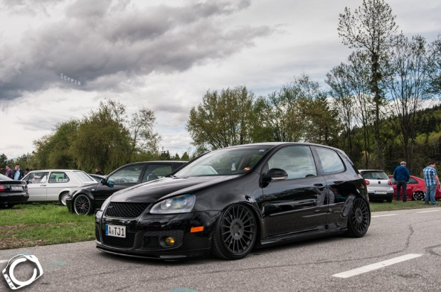 Black Volkswagen Golf Mk5 Gti Vw Golf Tuning