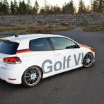 "H&R Eurotuner Golf VI on O.Z. Ultraleggera HLT 20"" wheels"