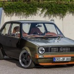 Volkswagen Golf Mk1 Kevlar Turbo on OZ Futura wheels